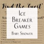 Easy Ice-Breaker Baby Shower Game Ideas