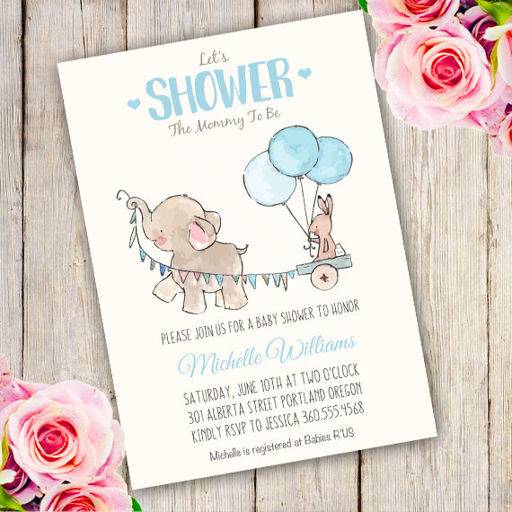 little-peanut-baby-shower-elephant-baby-shower-invitation