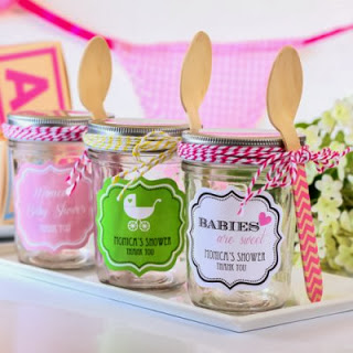 personalized-baby-shower-mini-mason-jars