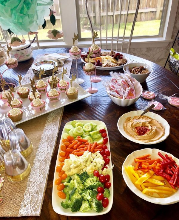 potluck baby shower food