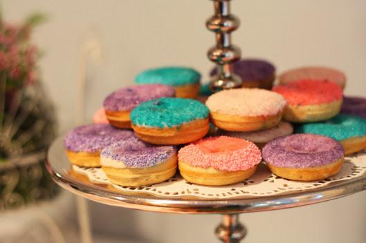 sprinkled donuts variety