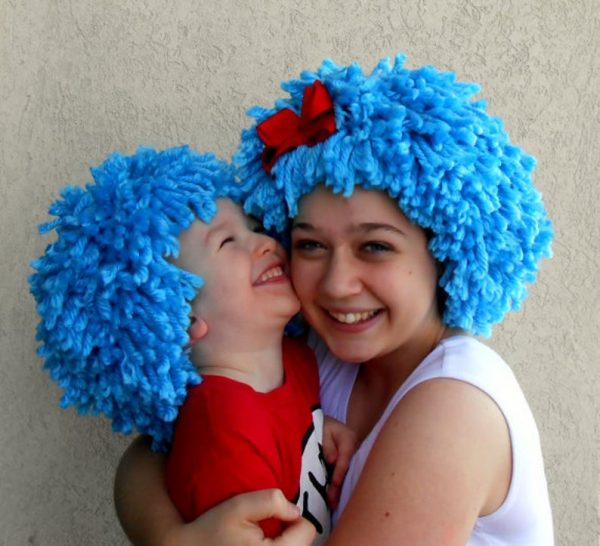 thing 1 thing 2 baby shower costume