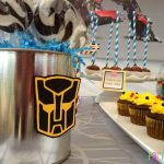 Classic Transformer Themed Birthday Party