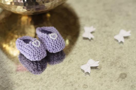 tiny baby bootie crochet