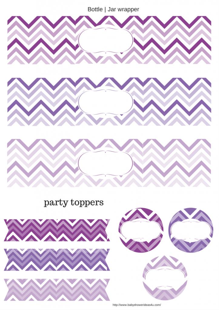 03 free printable baby shower party packs by babyshowerideas4u