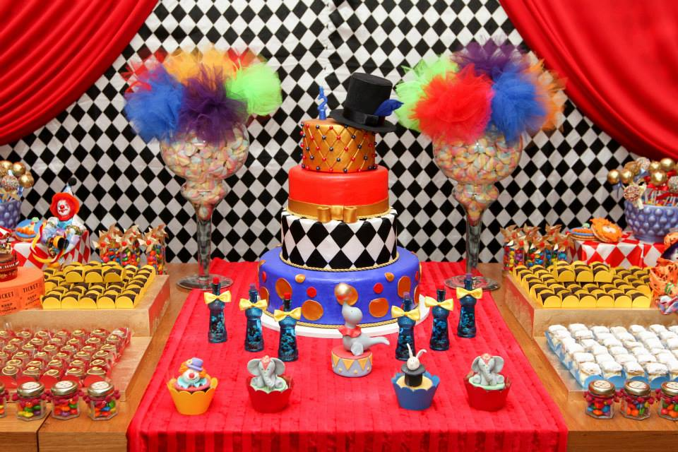Circus Baby Shower Theme Ideas
