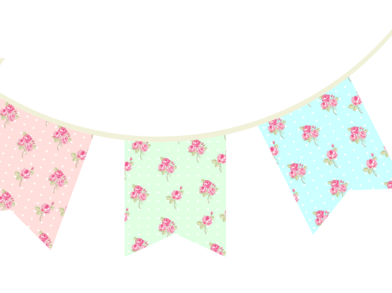 image regarding Free Printable Baby Shower Banner referred to as Totally free Printable Bunting Garland Banner Decorations - Child