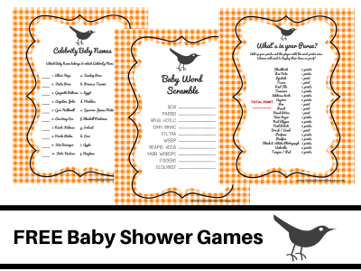 FREE-PRINTABLE-BABY-SHOWER-GAMES-baby-word-scramble-baby-celebrity-whats-in-your-purse-pink-bird