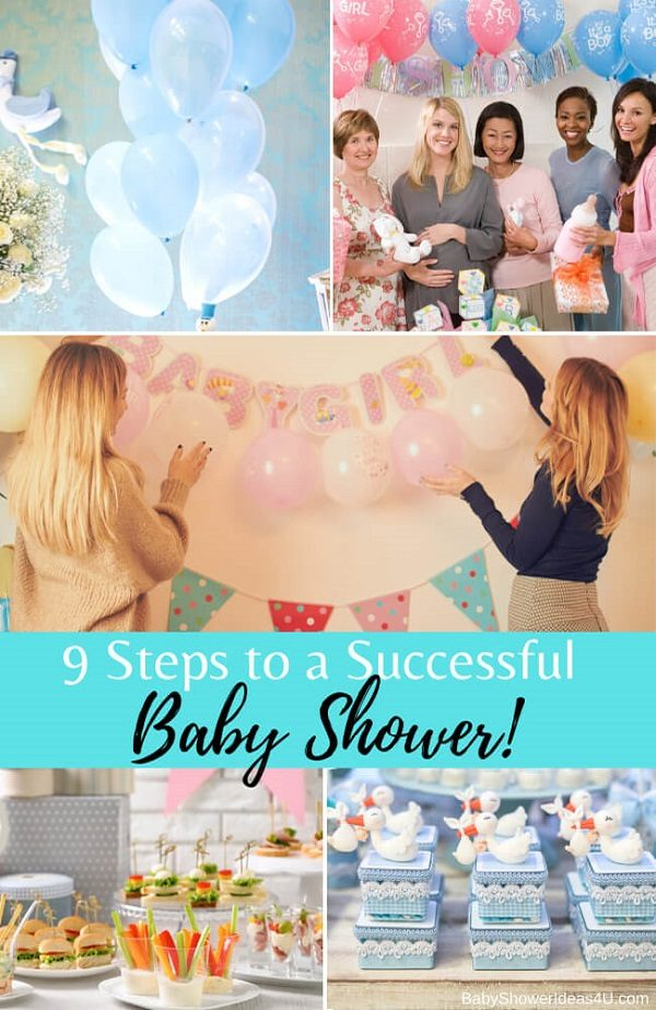 9 Steps to a Successful and a Memorable Baby Shower (1)