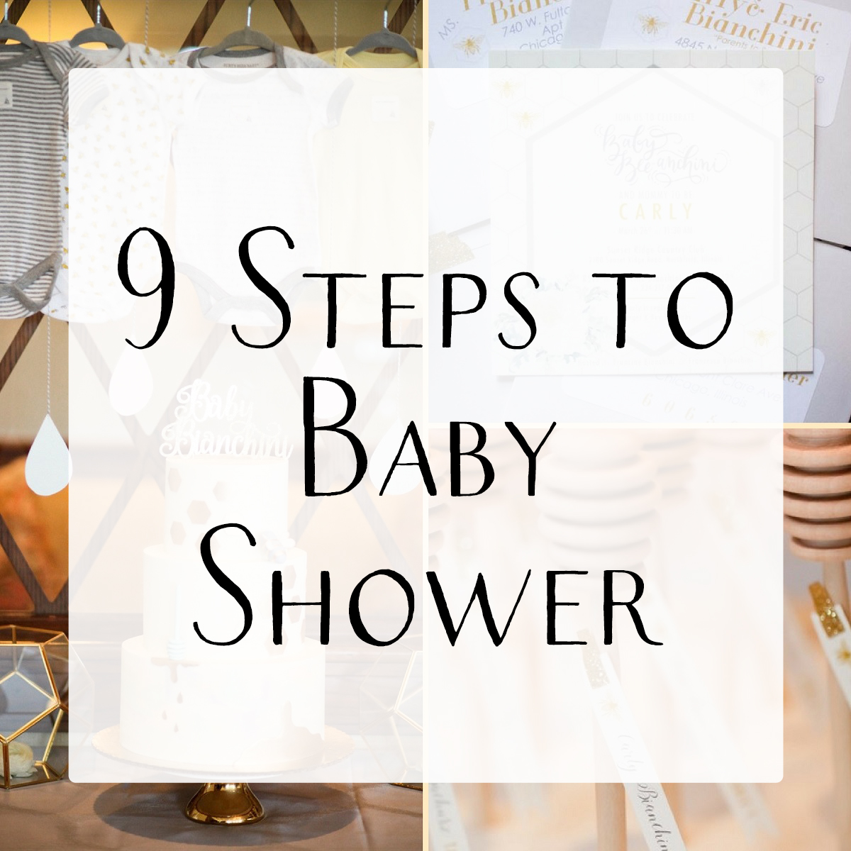 Easy baby shower planning guide