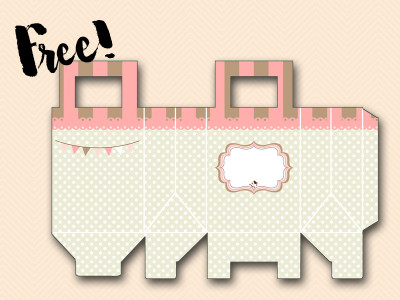 Free-Favor-bags-pink baby shower