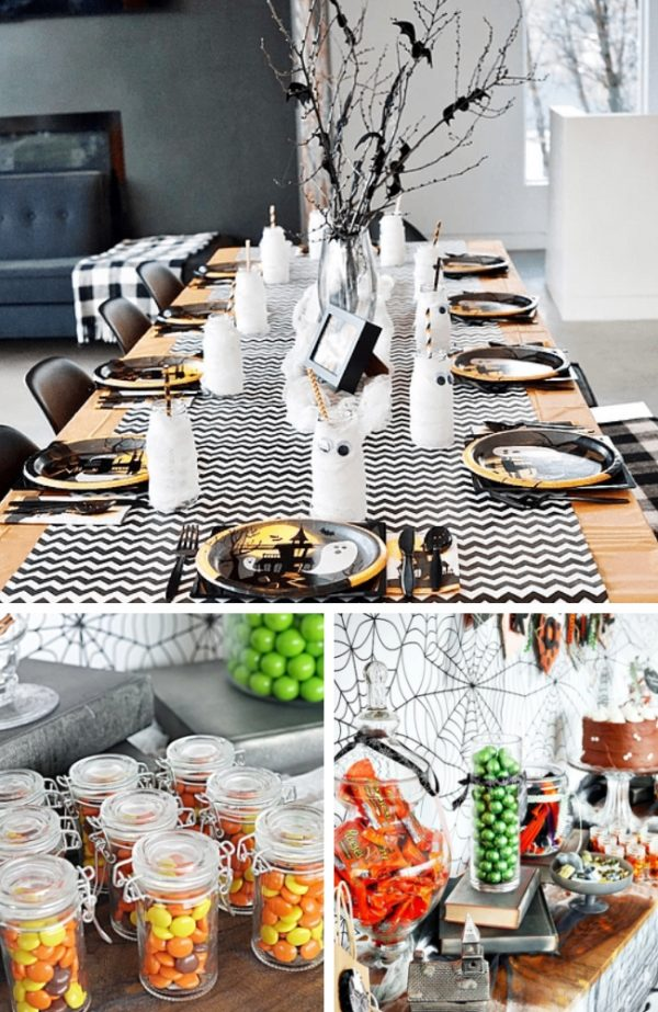 Fun Halloween baby shower Decoration Ideas