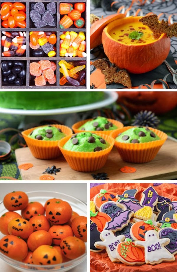 Halloween Themed baby shower Food Ideas