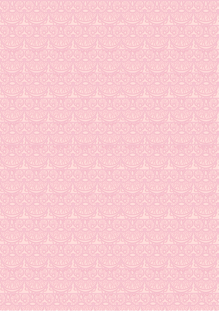 Lace Layer Print Paper pink background