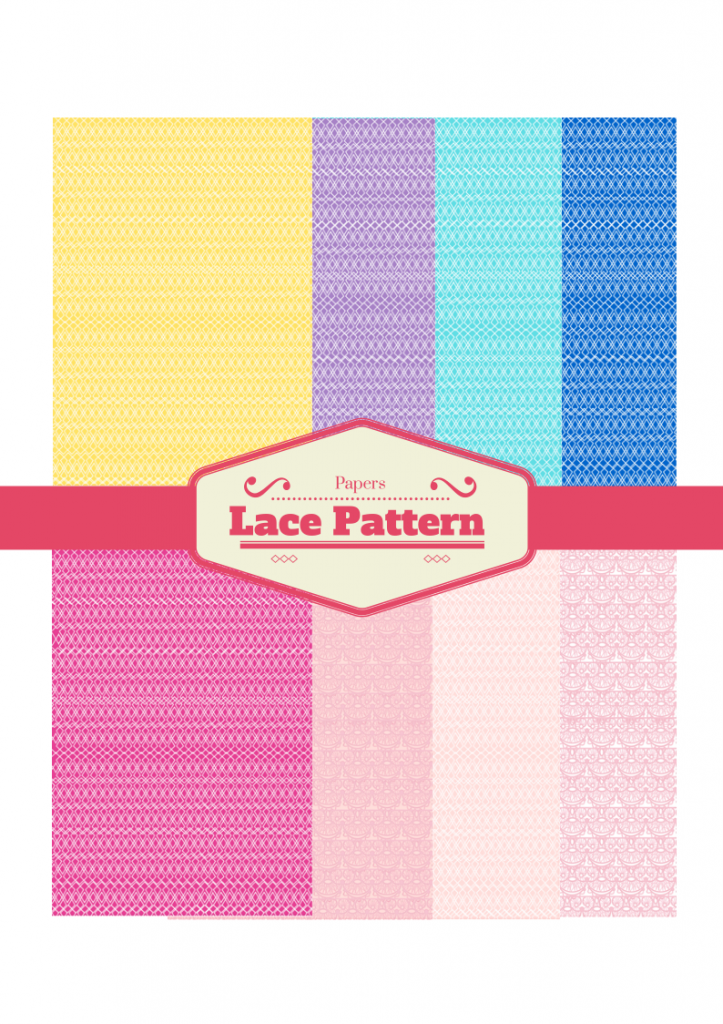 free Lace Pattern digital papers