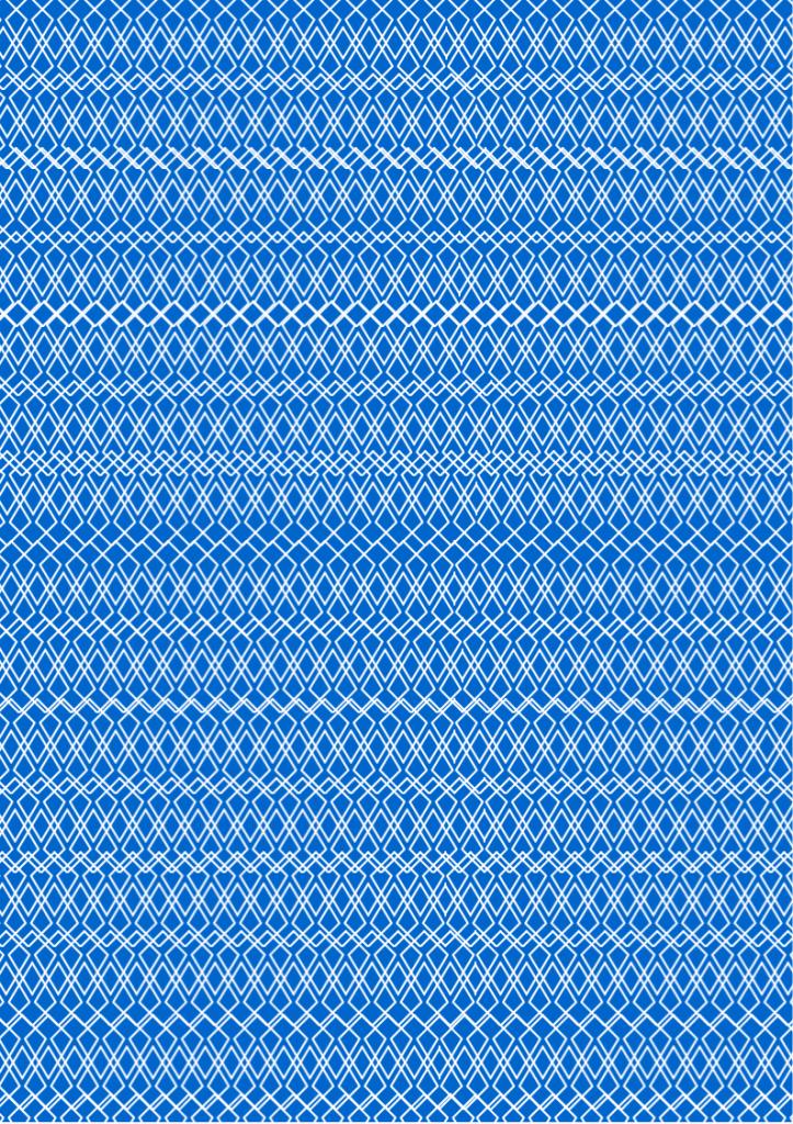 Lace Print Paper blue