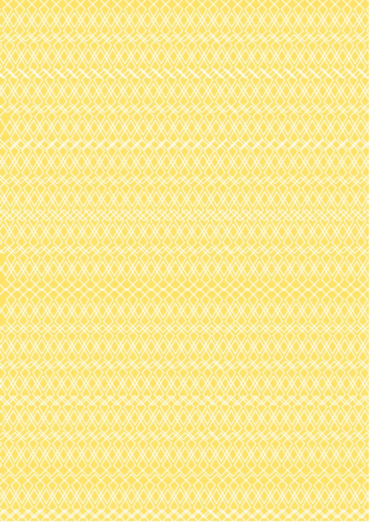 Lace Print Paper soft yellow