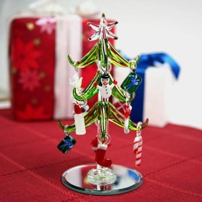 Mini Crystal Christmas Trees