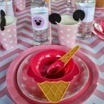 Minnie Mouse Ice Cream Shop Birthday Party