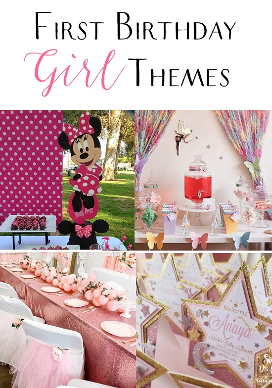 Popular First Birthday Themes and Ideas for a Girl