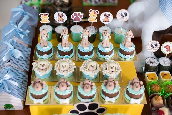 Puppy Dog Themed Baby Shower Ideas