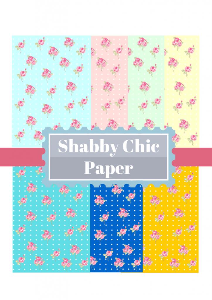 free Shabby Chic paper