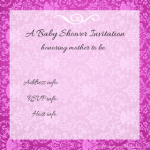 Free Printable Invitations Pink Damask