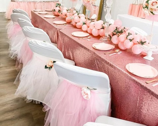 first birthday ballerina theme