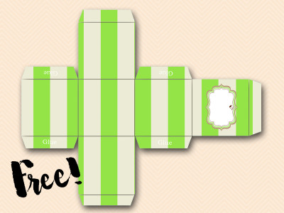 free-favor-box-green baby shower
