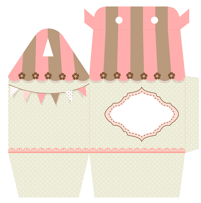 Diy Free Printable Favor Boxes Baby Shower Ideas