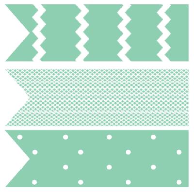 free printable baby shower cupcake flag toppers aqua