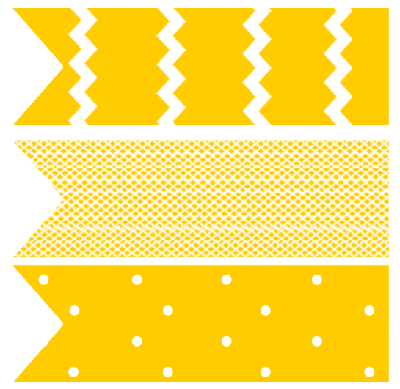 free printable baby shower cupcake flag toppers yellow