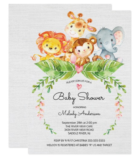jungle-baby-animals-baby-shower-invitations
