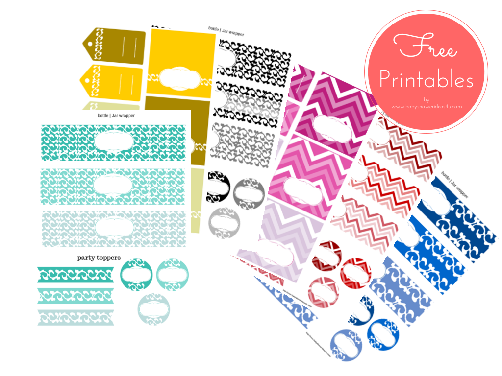 For Free Printable Baby Shower Party Packs
