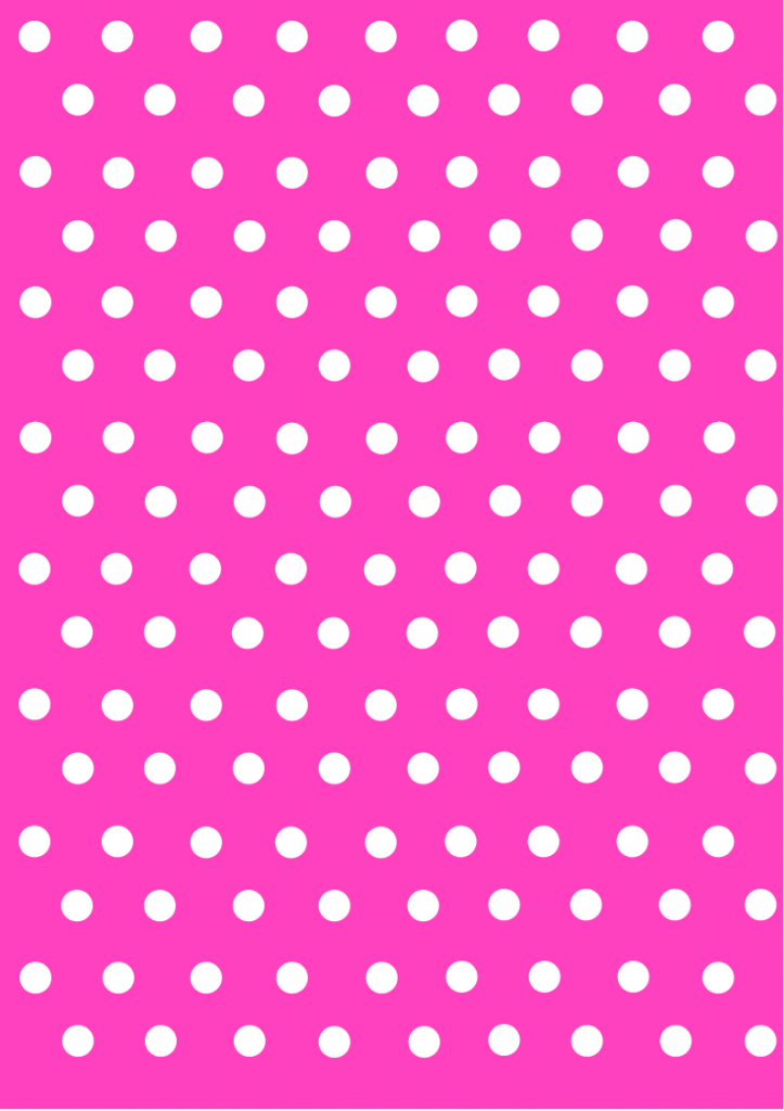 polka dot papers  pink