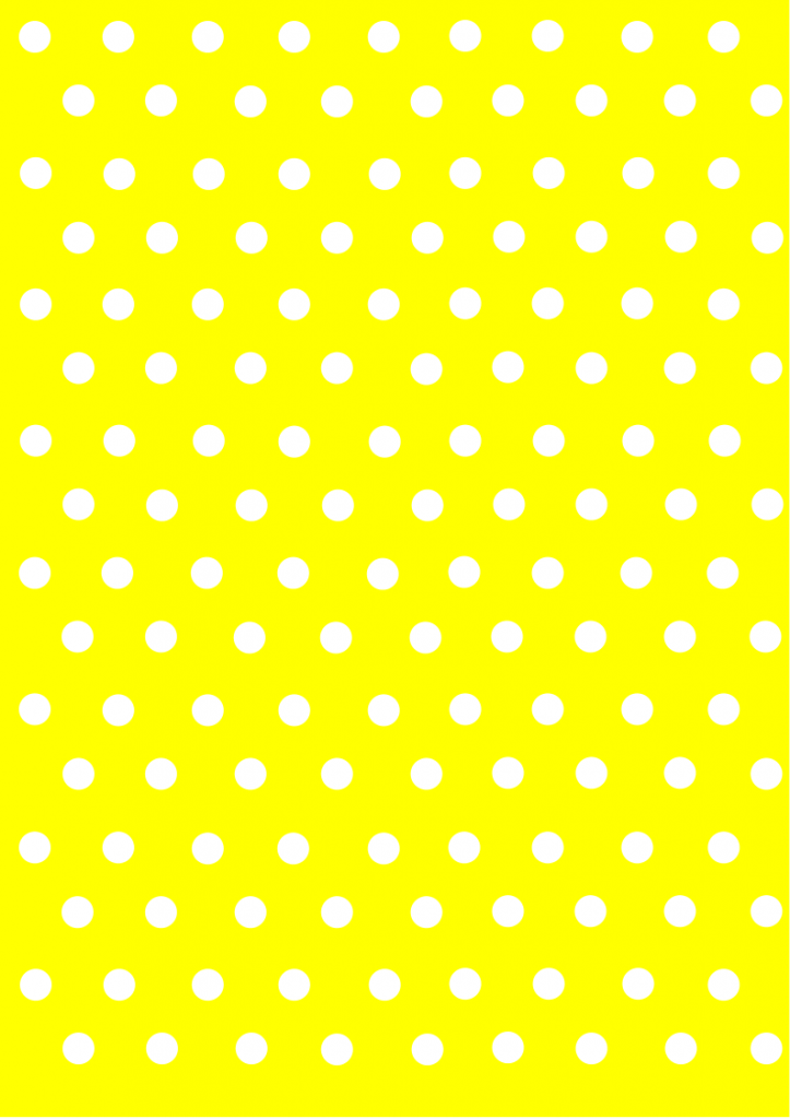 polka dot papers yellow