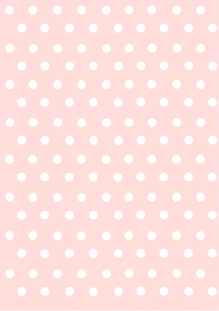polka dots papers pastel pink