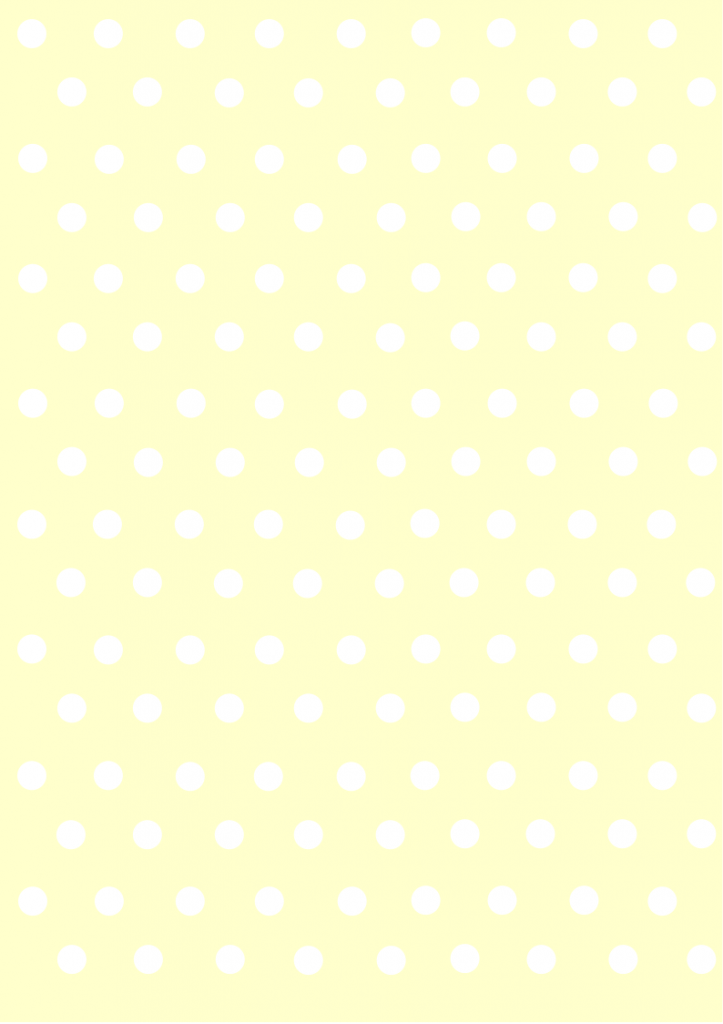 polka dots papers pastel  yellow