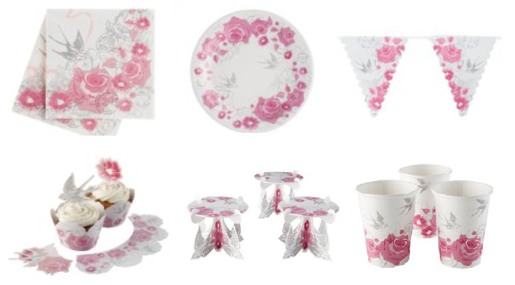 shabby chic tableware