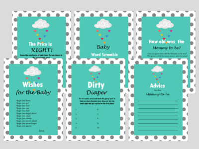 sprinkle baby shower games