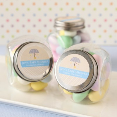 umbrella baby shower jars