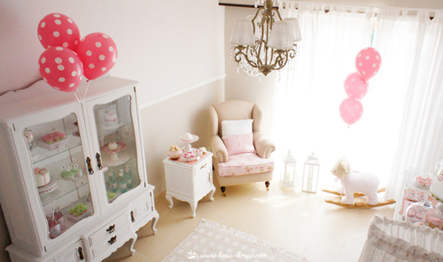 Vintage Princess Theme Baby Shower