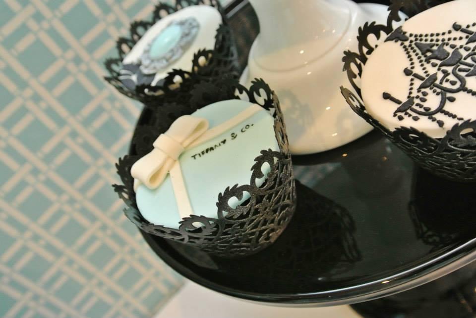 elegant chandelier print cookies