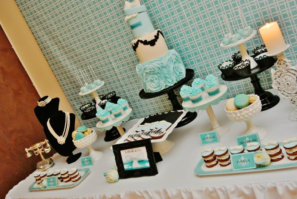 Tiffany Party Tablescape - Baby Shower