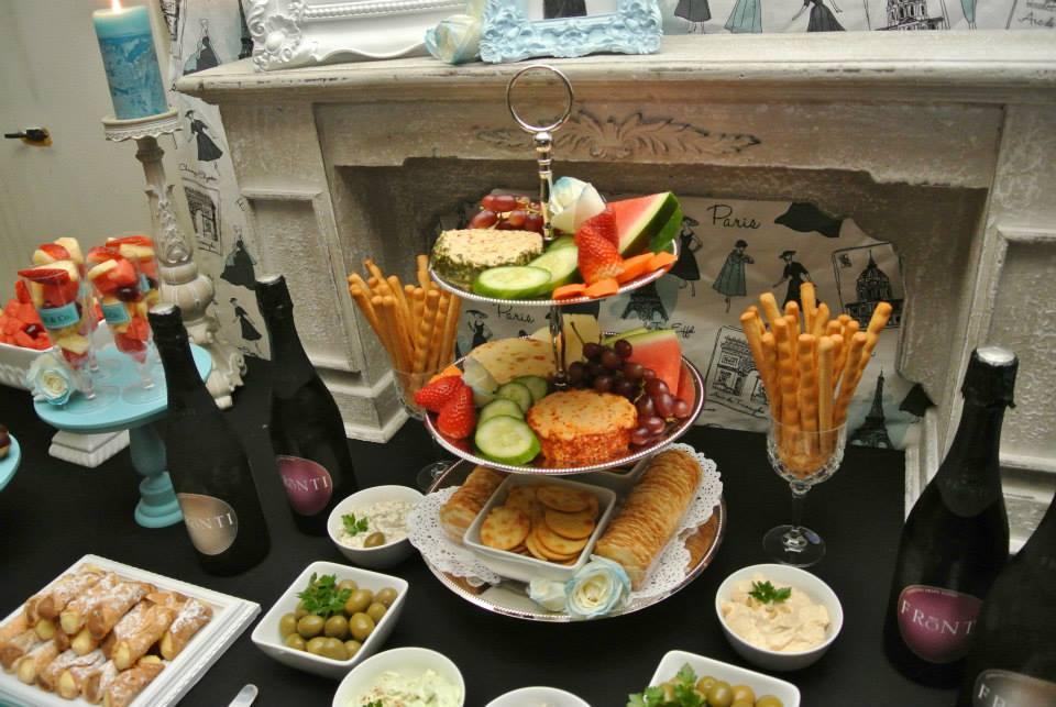 Breakfast at Tiffany's Party Food and Treats