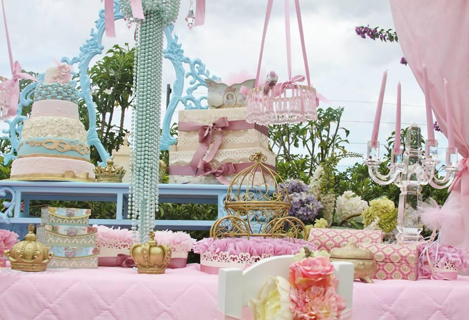 vintage princess baby showre theme