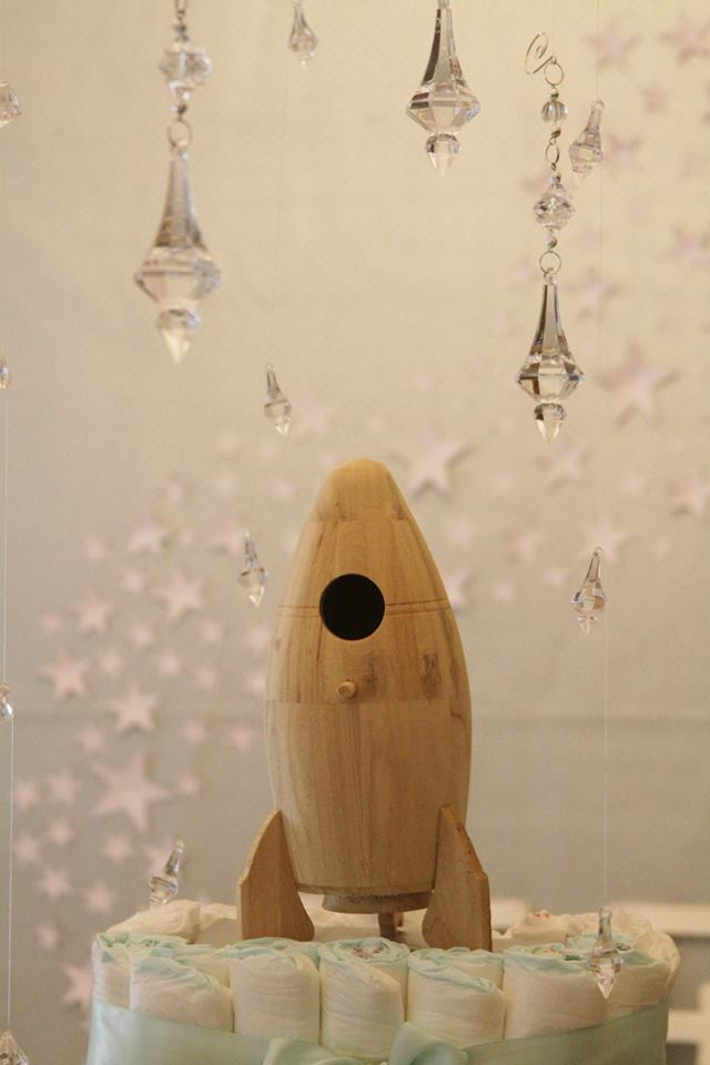 rocket baby shower ideas