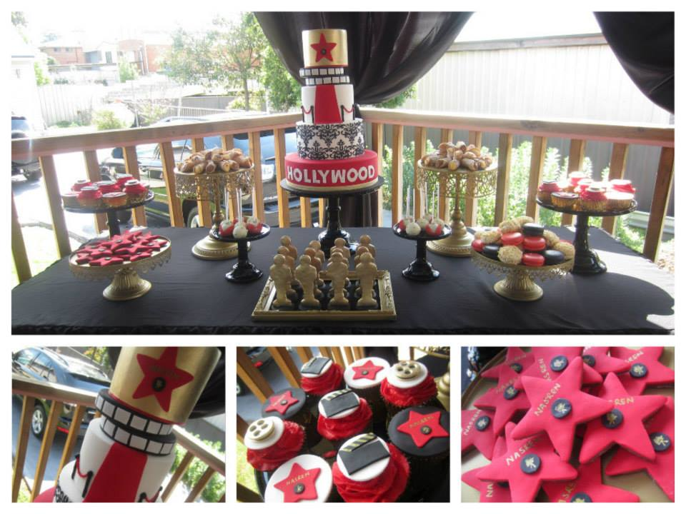 A Hollywood Themed Party