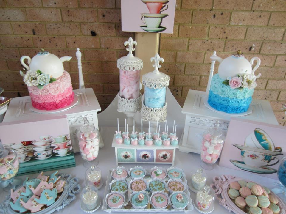 Delectable High Tea Party food