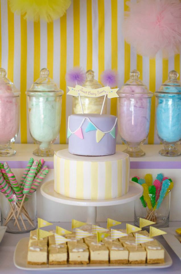 fairy floss in jars